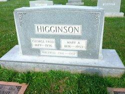 George Frederick Higginson
