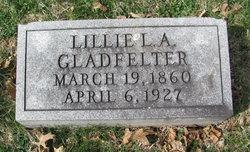 Lillie L.A. <I>Gladfelter</I> Gladfelter