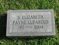 S Elizabeth <I>Payne</I> Lupardus