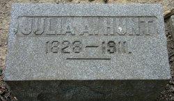Julia Ann <I>Campbell</I> Hunt