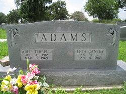 Arlie Terrell Adams