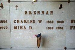 Mina D. <I>Warner</I> Brennan