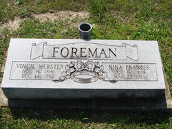 Vincil Webster Foreman