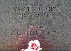 Wattie Hampton Price, Sr