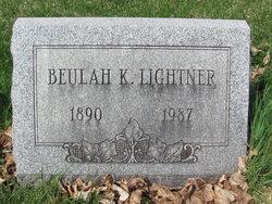 Beulah K. <I>Lau</I> Lightner