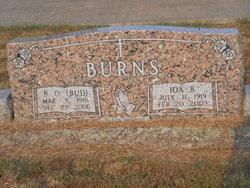 """Barnmal O """"Bud"""" Burns"""