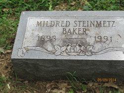 Mildred <I>Steinmetz</I> Baker