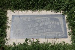 Alice <I>Gulick</I> Berryman