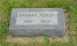 Hannah <I>Veblen</I> Hanson