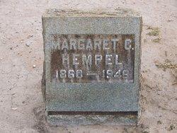 Margaret <I>Cooney</I> Hempel