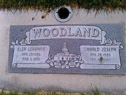 Elsa Lorraine <I>Sanders</I> Woodland
