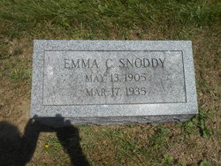 Emma C. <I>Avery</I> Snoddy