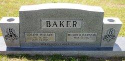 Mildred <I>Hamberg</I> Baker