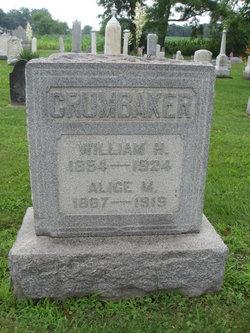 Mary Alice <I>Schafernocker</I> Crumbaker