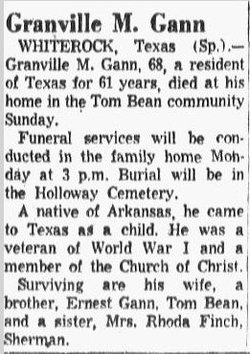 Granville M. Gann