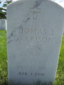 """Thomas Eugene """"Tommy"""" Garrison"""
