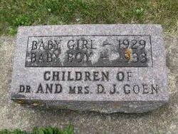 Infant Girl Goen