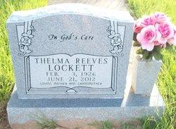 Thelma Reeves Lockett
