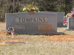 Eva Lurlene <I>Mathews</I> Tompkins