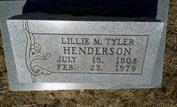 Lillie Mae <I>Tyler</I> Henderson