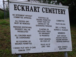 Eckhart Mines Cemetery