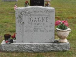 Ernest D Gagne
