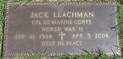 Corp Jack Leachman