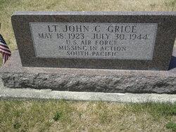 Lieut John C. Grice