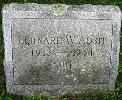Leonard W Adsit