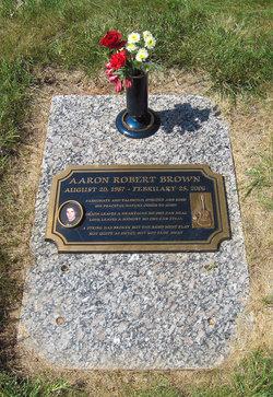 Aaron Robert Brown 1987 2006 Find A Grave Memorial