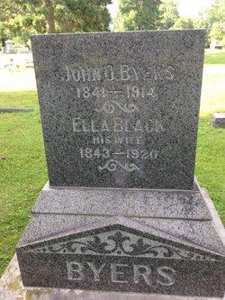 Mary Ella <I>Black</I> Byers