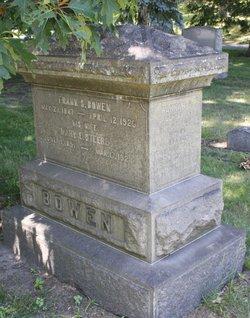 Mary Eliza <I>Steere</I> Bowen