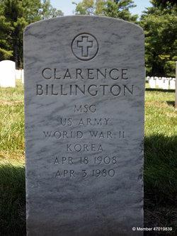 Clarence E Billington