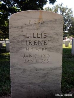 Lillie Irene <I>Thomas</I> Billington