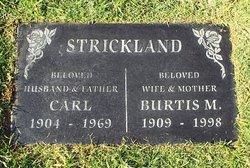 Burtis Marie Strickland