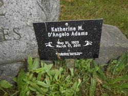 """Katherine M. """"Nain"""" <I>Jones</I> Adams"""