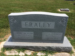 Cecil Thomas Fraley