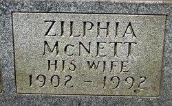 Zilphia <I>McNett</I> Balcom