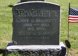 Ellen M <I>Daniels</I> Brackett