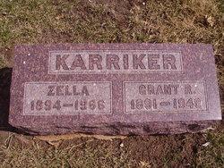 Zella <I>Filley</I> Karriker