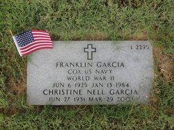 """Franklin """"Leno"""" Garcia, Sr"""