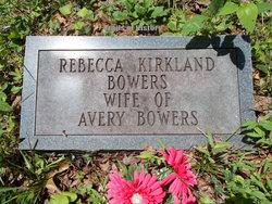 Rebecca <I>Kirkland</I> Bowers
