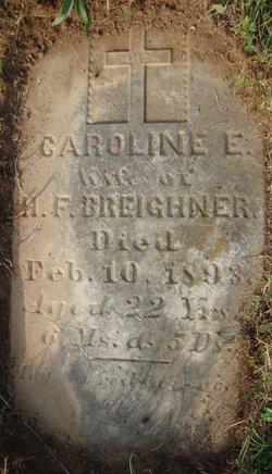 """Caroline Elizabeth """"Carrie"""" <I>Robinson</I> Breighner"""
