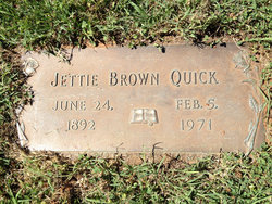 Jettie Brown Quick