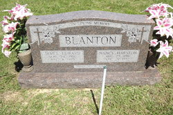 Nancy <I>Harston</I> Blanton