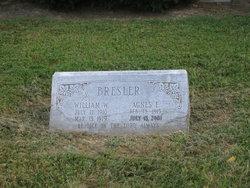 Agnes E <I>Rossi</I> Bresler