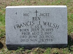 Rev Francis J. Walsh