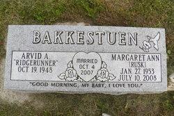 Margaret Ann <I>Rusk</I> Bakkestuen