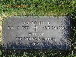 Dorothy E Billups