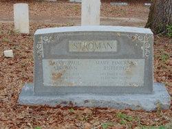Mary Pinckney <I>Rutledge</I> Stroman